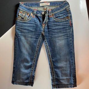 Bisou D'eve Capri Jeans, Great Condition